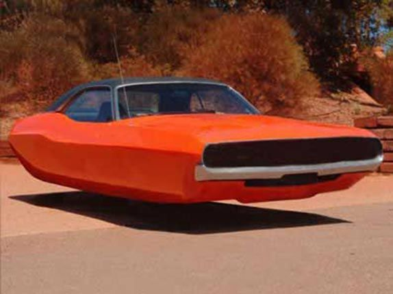 Vintage Space Car Vintage Muscle Cars Turned Into Space Vehicles