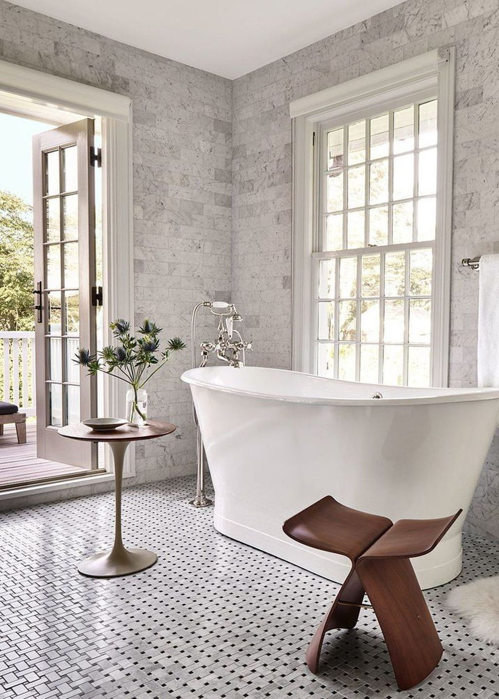 Just wait until you see the reading nook in this modern new york renovation home tours also rh pinterest