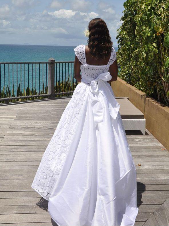 robe de mari e mariage cr ole antillais blandine en vente