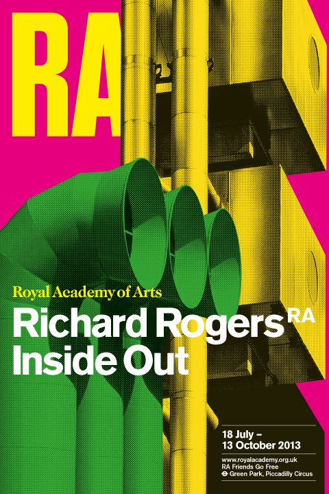 New Work Richard Rogers Royal Academy Exhibition New At Pentagram Premio Pritzker Editorial Diseno Editorial