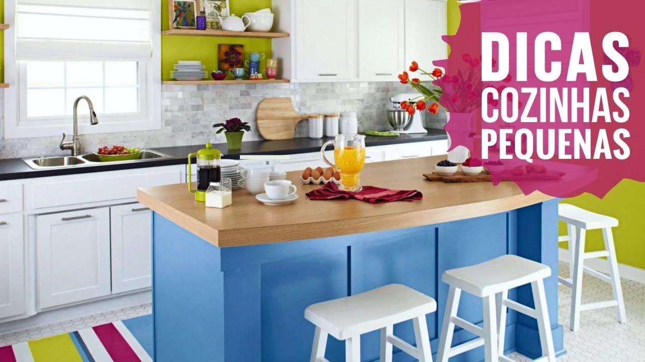 Como Decorar Cozinha Pequena Simplichique Cozinha Kitchen  ~ Imagens Para Decorar Cozinha