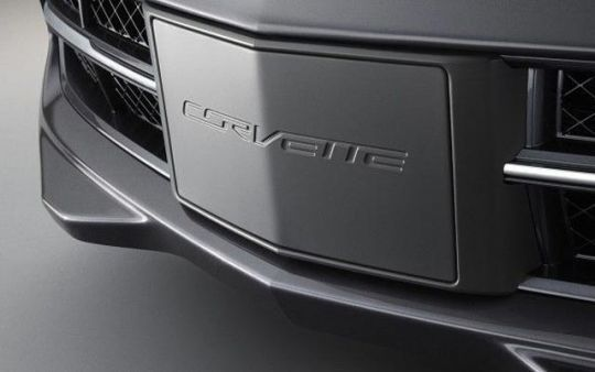 Carbon Flash Front Aero Panel License Plate Frame C7 Corvette Stingray Corvette Chevrolet Accessories Corvette Stingray