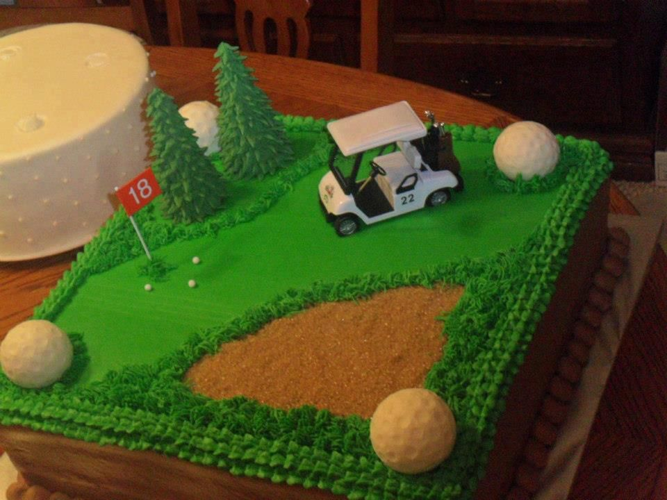 Cake Decorating Ideas Golf Theme : Golf Theme Groom s Cake Groom s Cakes Pinterest Golf theme, Golf and Cake