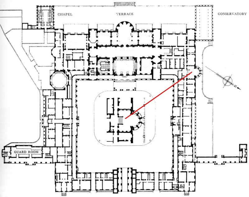Some Floor Plans Of Buckingham Palace Below Is The Ground Floor Plan Of Buckingham Palace Th Buckingham Palace Floor Plan Ground Floor Plan Buckingham Palace