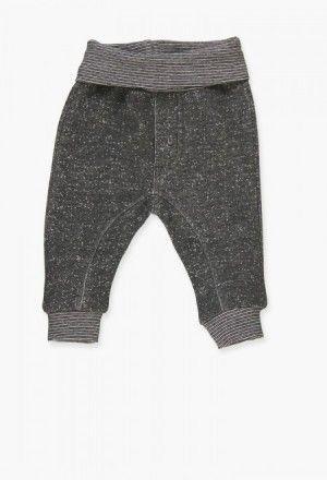 Pantalón felpa de bebé niño