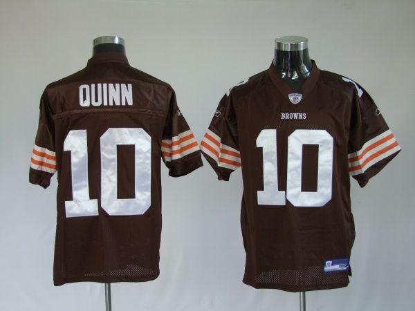brand new bed88 c20e4 $25.00 Reebok NFL Jersey Cleveland Browns Brady Quinn #10 ...