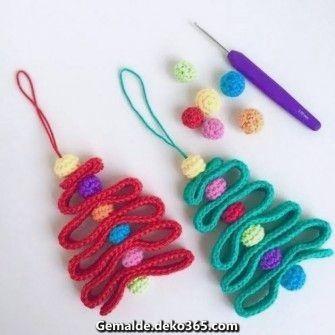Großartige Weihnachtsbaum #crochetelements