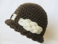 INSTANT DOWNLOAD Crochet Pattern: Knotted Beanie (6 sizes included fromâ?¦