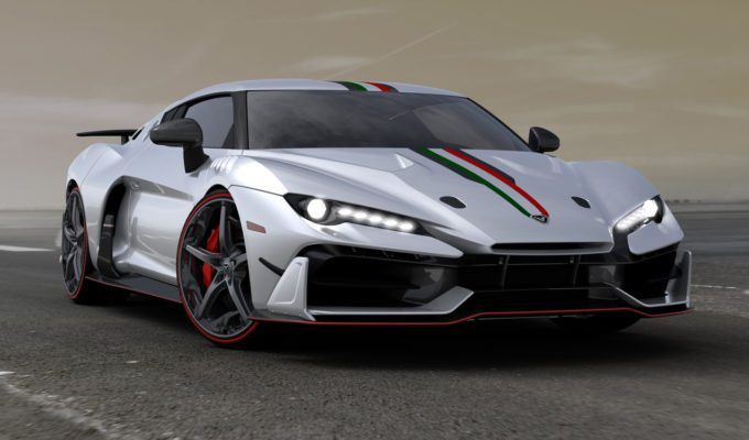 Italdesign Unveils New Ultra Limited Supercar Super Cars Sports Car New Cars