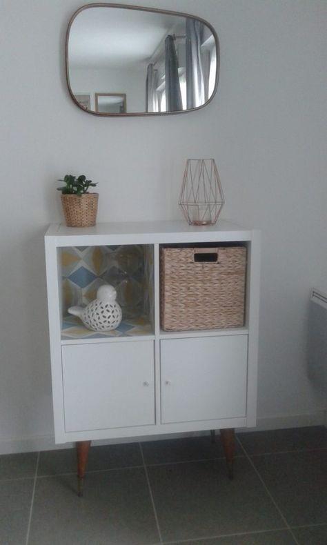 Une étagère hyper tendance pour un petit prix ! Ikea hack