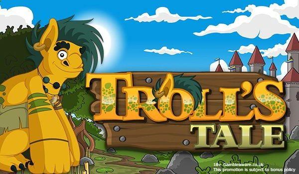 Enjoy Troll's Tale- a slot with amusing cartoon characters & pleasant graphics & a great bonus. Play & win cash! www.monstercasino...