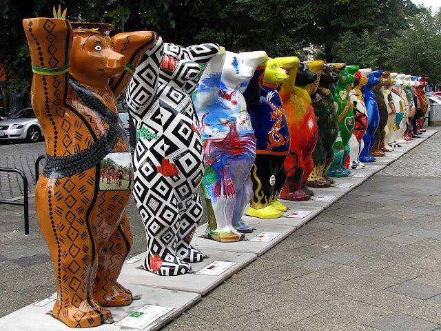 United Buddy Bears, Knesebeckstraße, Berlin