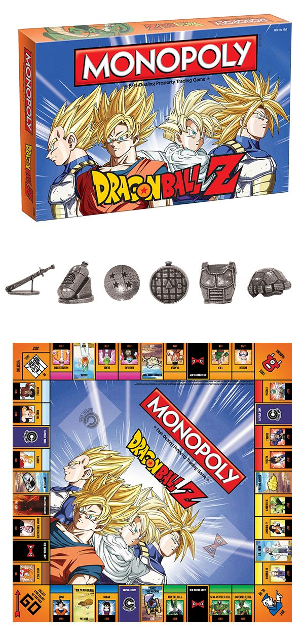 We find the Z Fighters in an epic battle of dice rolling and real estate!  Recruit legendary warriors like GOKU ca737f9ef