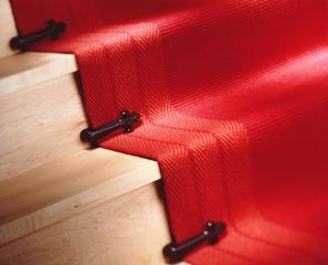 Best Images, Photos And Pictures About Red Stair Carpet Ideas  #staircarpetideas #redstaircarpet Related. Stair Runner RodsRunners ...