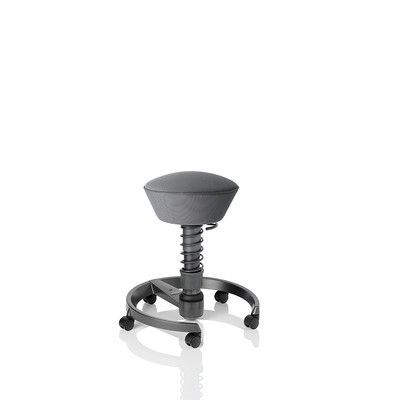 Via Seating Motion Seating Office Chair with Casters Color: Silver