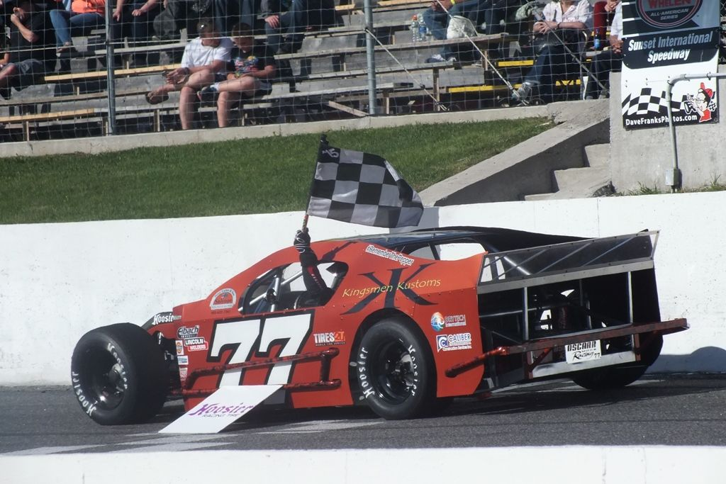 Chad Strawn Finishes Fourth In Hoosier Oscaar Modified Season Opener Strawn Racing Chad