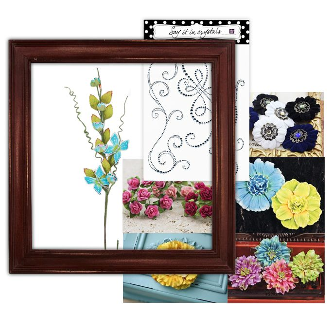 Prima - Wood Frame Kit - Antique Brown at Scrapbook.com $18.21