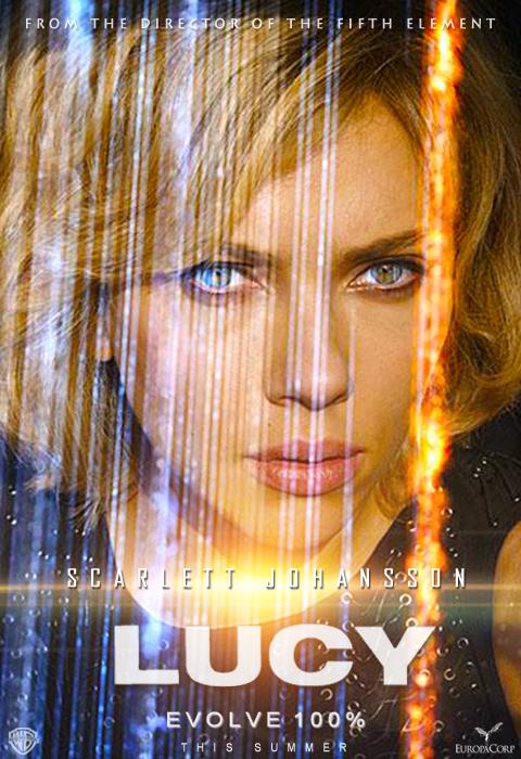 Lucy Movie 2014 Poster Scarlett Johansson Lucy Movie 2014 Poster