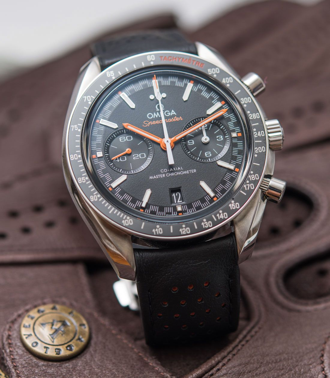 d4ac3798b39 Omega Speedmaster Racing Master Chronometer Watch Review