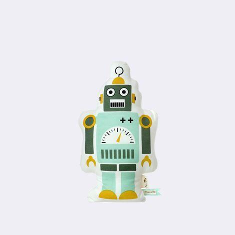 Mr. Small Robot Cushion