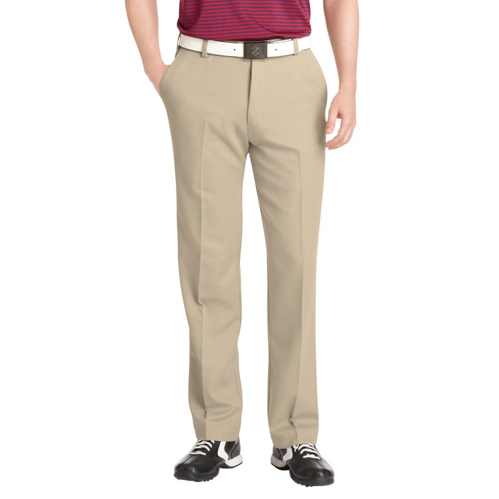 51eb8d7968 Big & Tall IZOD XFG Microsanded Microfiber Performance Golf Pants, Beige