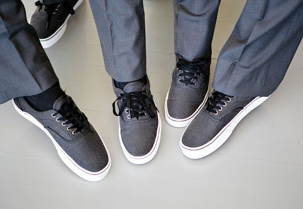 Charcoal Gray Vans Groomsmen Shoe Ideas Best Man Fashion Mens Shoes Wedding