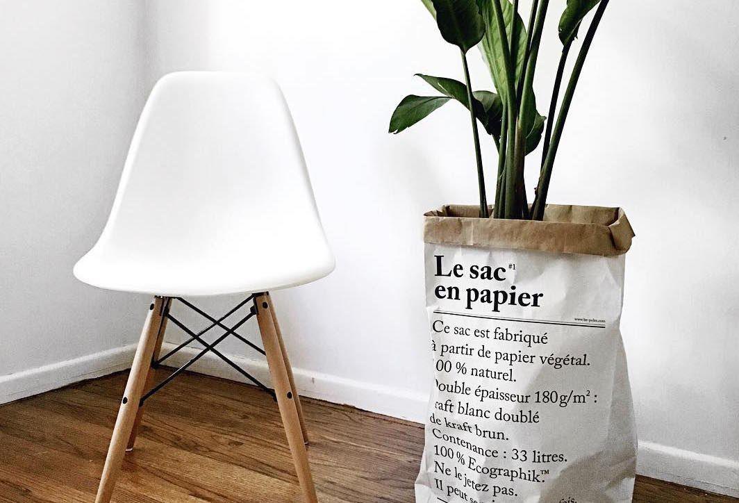 De Papieren Zak : Een papieren zak in je interieur is stijlvoller dan je denkt