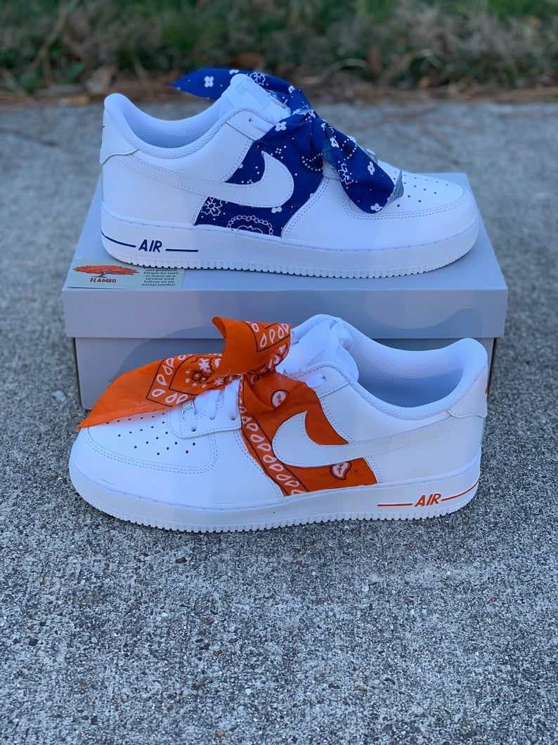 Nike Air Force 1 Custom 'Bandana' Available in all Etsy