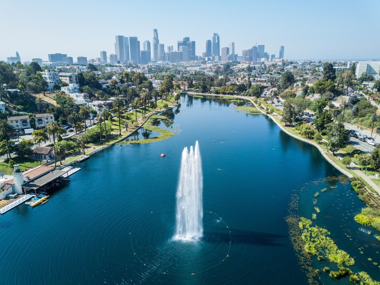 The Neighborhood Guide To Echo Park Echo Park Lake Neighborhood Guide Los Angeles Parks