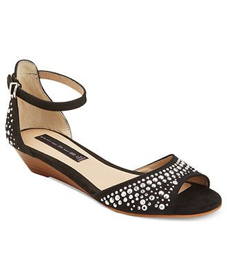 STEVEN by Steve Madden Shoes, Tippsy Wedge Sandals - Shop Designer Sandals - Shoes - Macy's