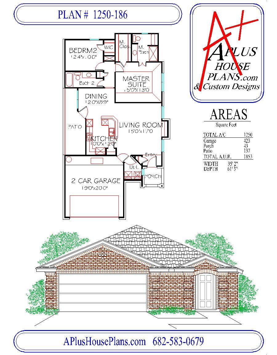 Front Elevation Floor Plan : House plan traditional front elevation