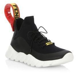 Fendi Knit Think Colorblock Sneakers