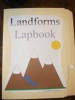 landforms lapbook?