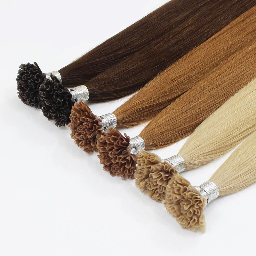 Forever Hair Straight Human Hair Extension #humanhairextensions