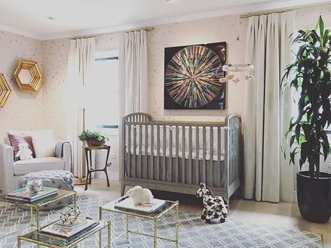 Nursery For The Baby Daughter Of Jeff Lewis And Partner Gage