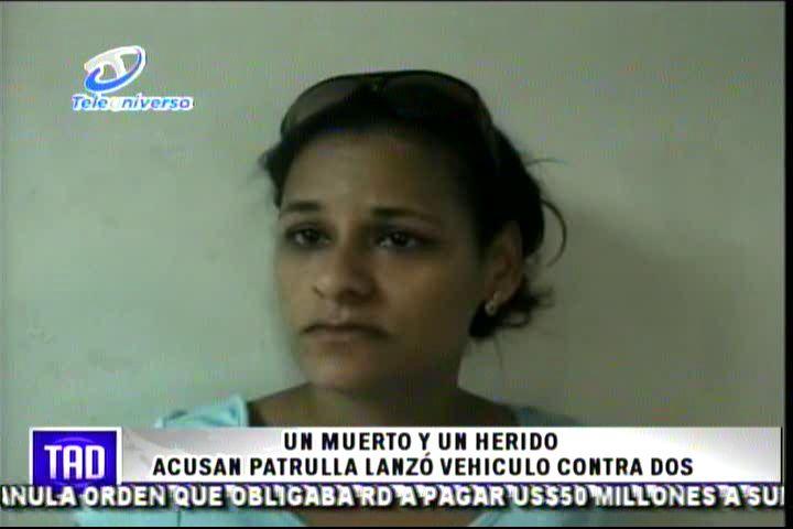 Denuncia Patrulla De La Policía Por Lanzar Encima Vehículo A Dos Hombres #Video