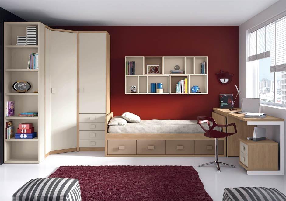 Dormitorio dormitorio adolescente hombre kids bedroom for Habitacion juvenil hombre
