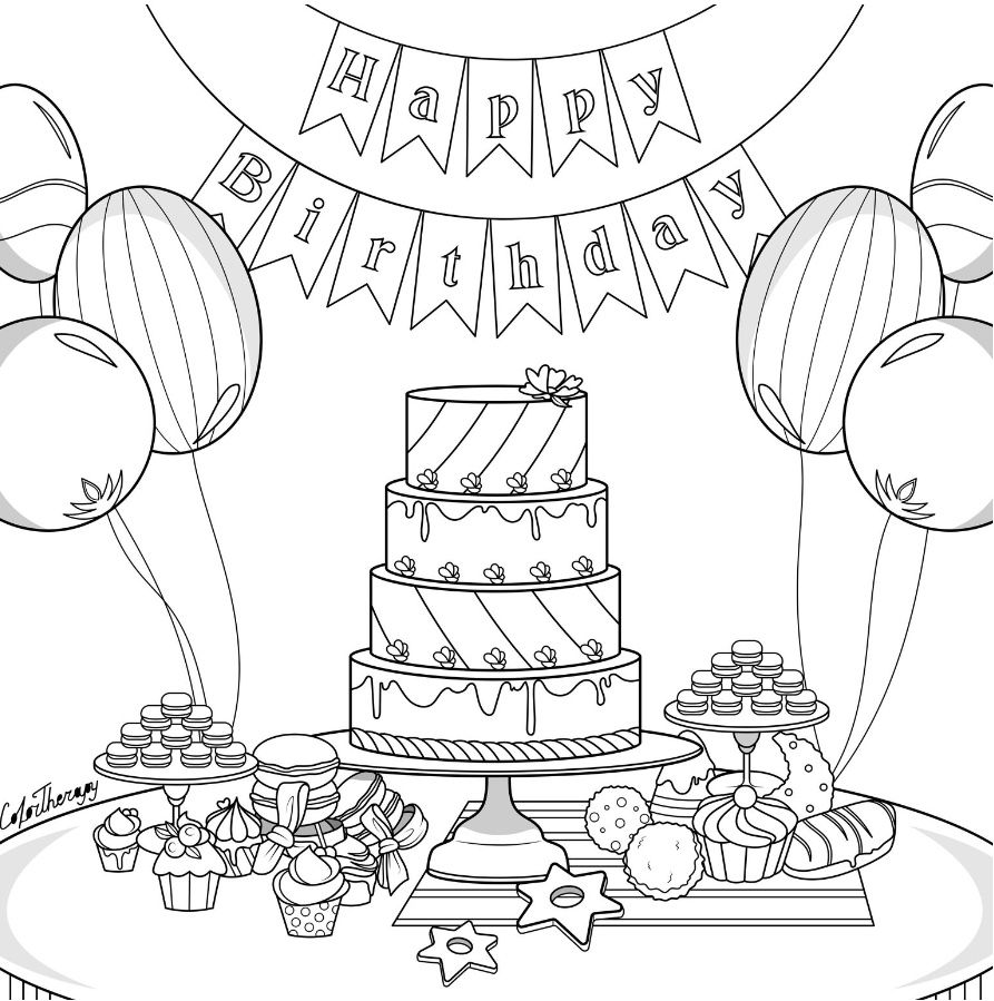Totally FREE coloring pages to unwind while we're on