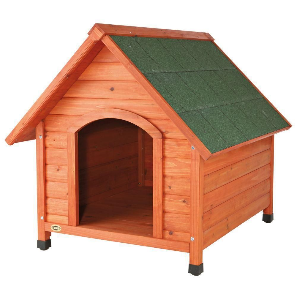 We All Want The Best For Our Pets Now You Can Improve Your Pet S Safety And Well Being With Our Dog Safe Log Cabin Dog House Build A Dog House Large
