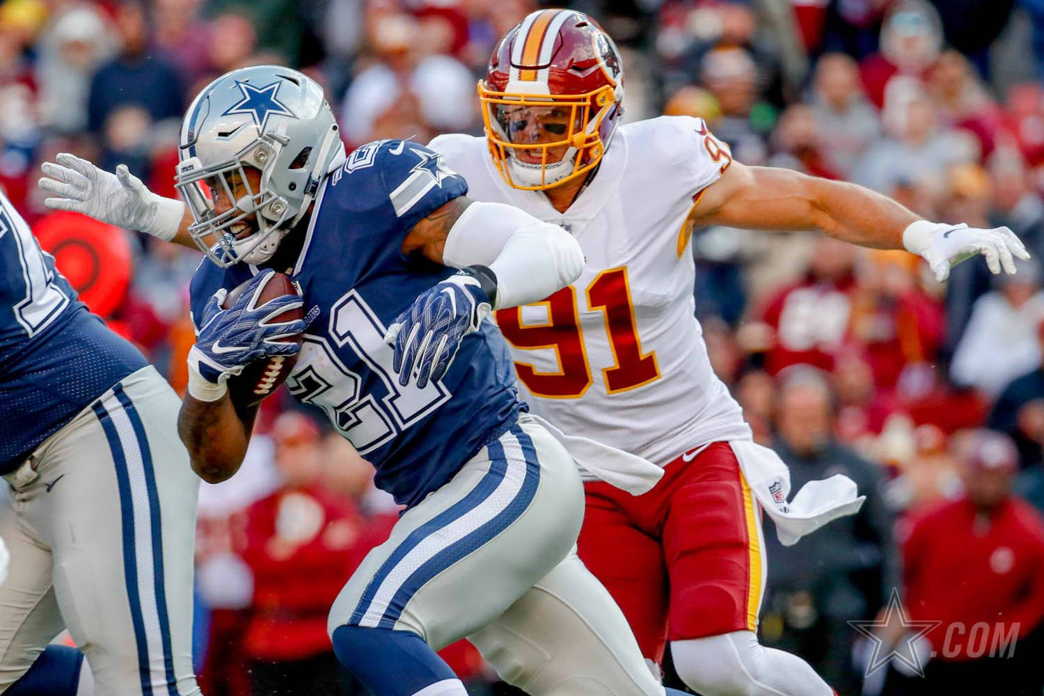 Week 7 October 21 2018 Dallas Cowboys Vs Washington Redskins In Landover Md Dallas Cowboys Cowboys Vs Washington Redskins
