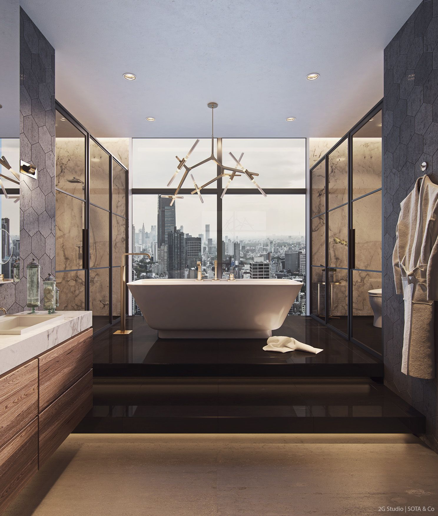 The Penthouse - BATHROOM