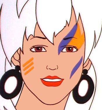 Rock jem makeup new wave makeup pinterest makeup and rocks ccuart Images