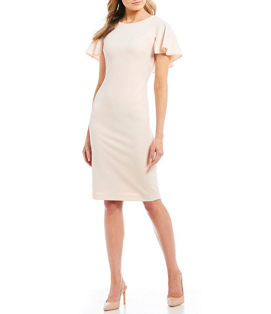 28++ Calvin klein boat neck sheath dress ideas in 2021