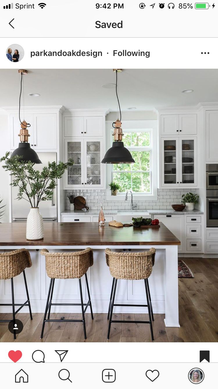 Pin By Amanda Struss On Home Design Farmhouse Kitchen