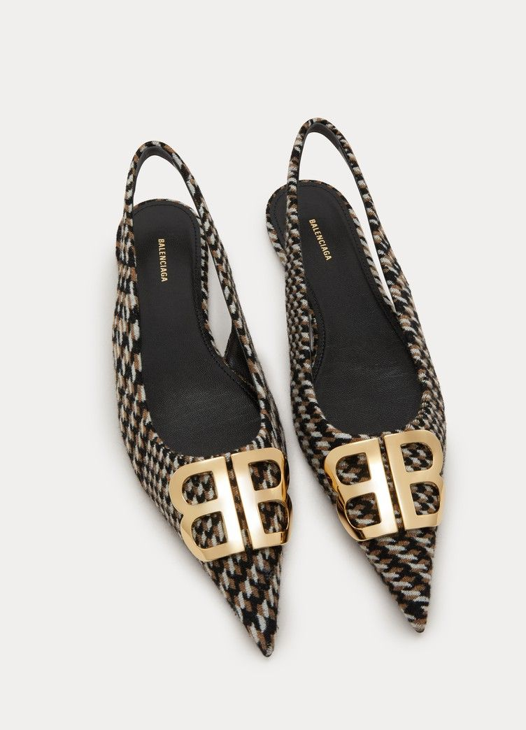 Balenciaga BB sandals | Kitten heel