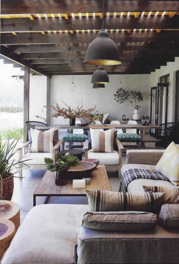 Decorar El Porche Con Muebles De Interior Home Pinterest - Como-decorar-un-porche
