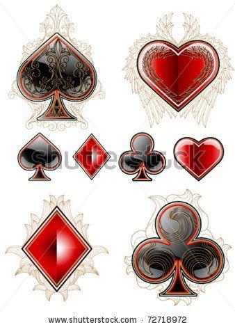Deck Of Cards Stock Vector 72718972 Shutterstock Cards Deck