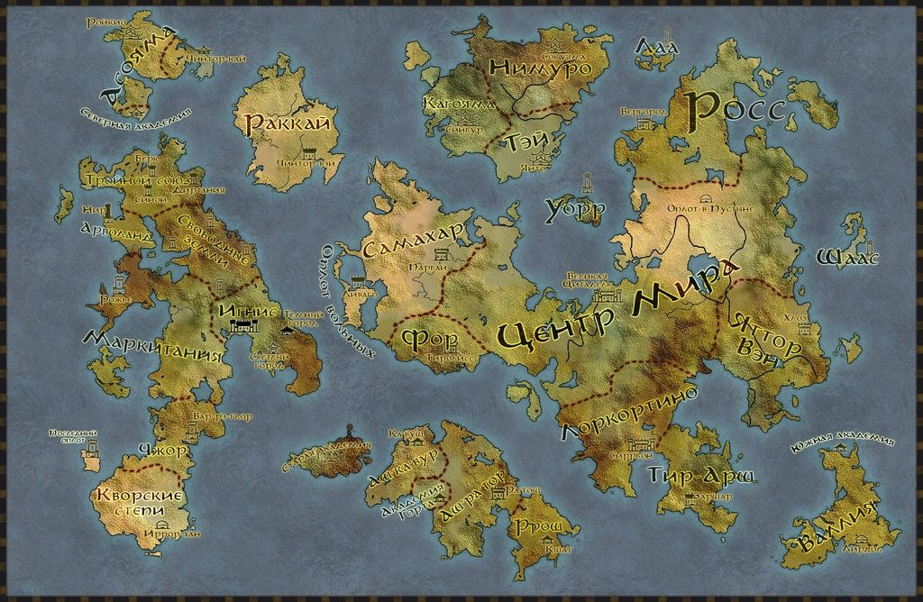 The Witcher World Map political world map ignis senso0scuro on ...