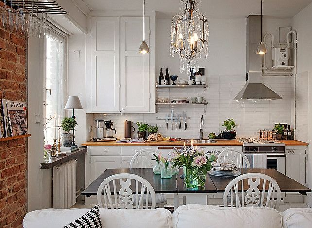 From French Traditional Transitional And Even Scandinavian Interior Design Ideas Interior Design Kitchen Small Space Kitchen Kitchen Interior