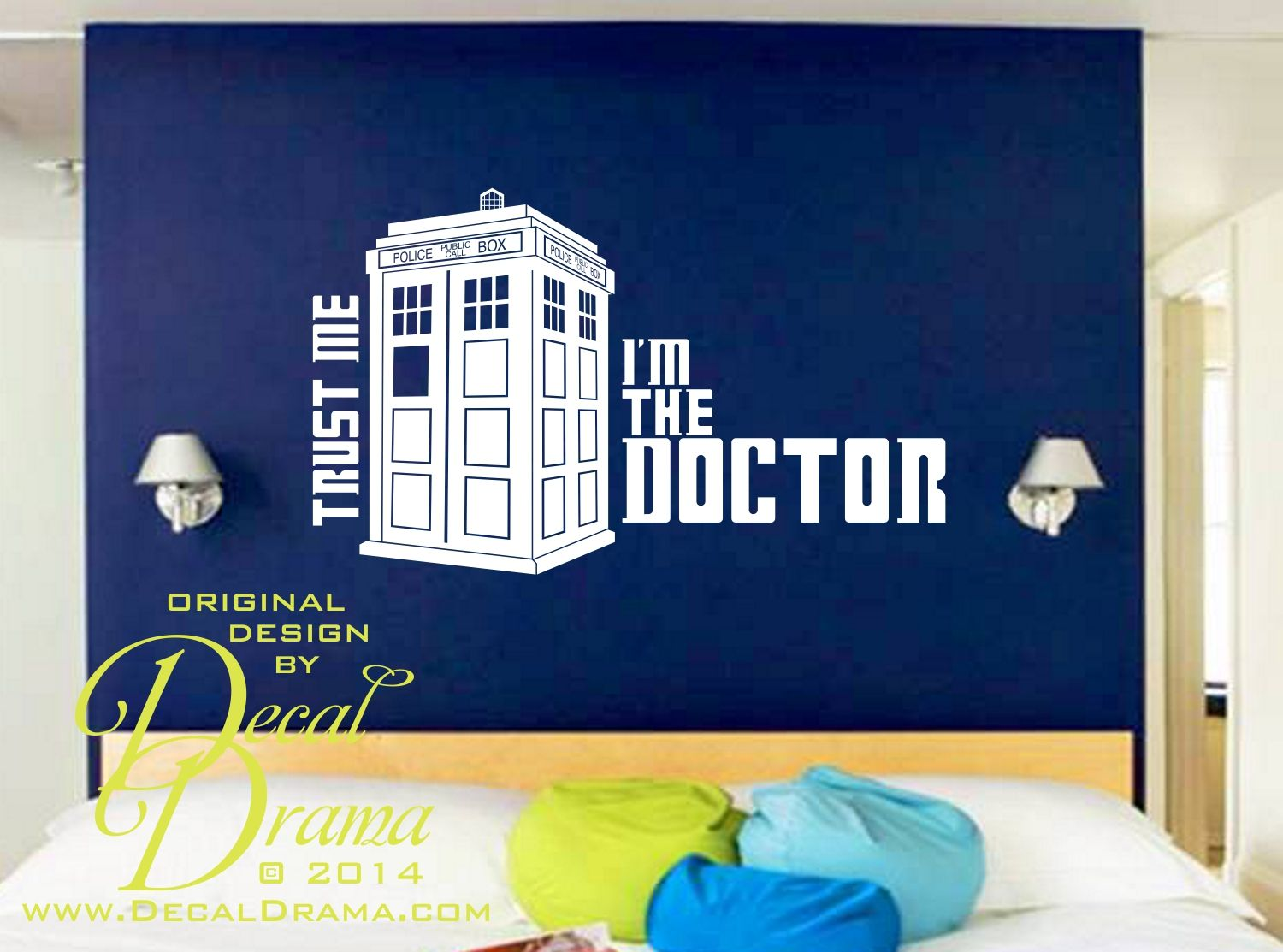 Iu0027m The DOCTOR! Who, TARDIS, Vinyl Wall Decal Sold By Decal Drama. Shop  More Products From Decal Drama On Storenvy, The Home Of Independent Small  Businesses ...